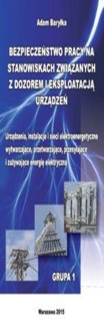 Urządzenia, instalacje i sieci elektroenergetyczne wytwarzające, przetwarzające, przesyłające i zużywające energię elektryczną. Grupa 1